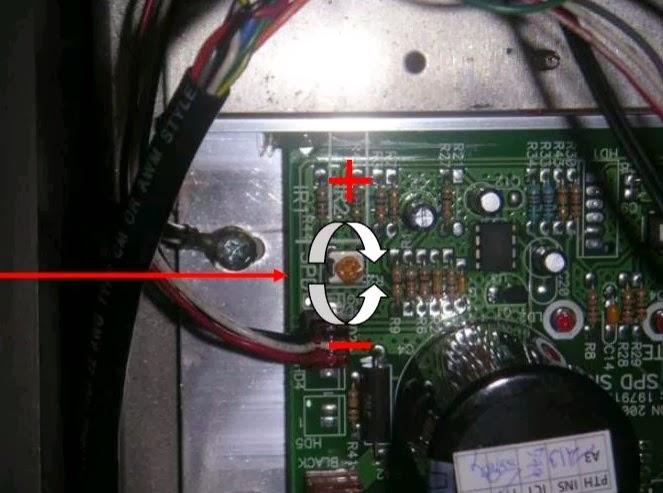 calibrazione scheda icon mc2100 e mc2000 step 5