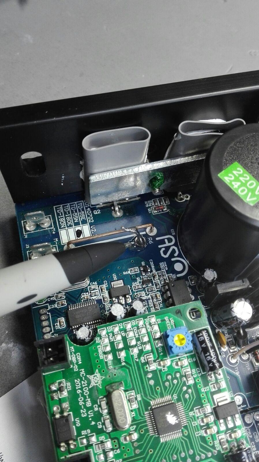 Taratura scheda MC2100 astek sostitutiva Icon