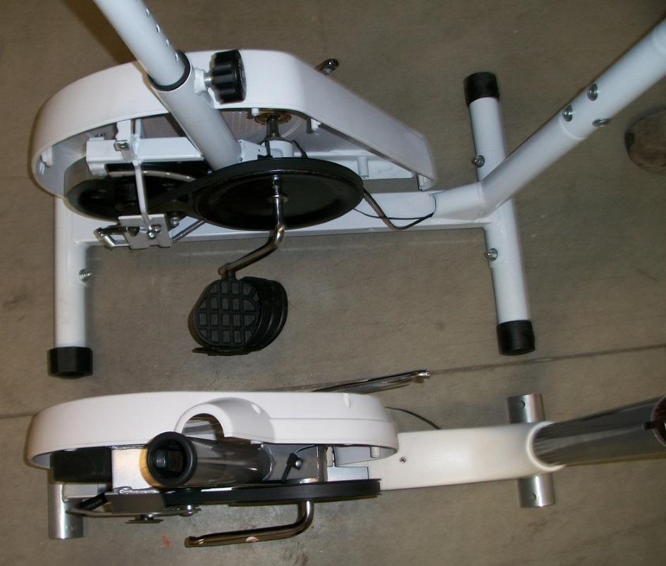 pedaliera cyclette 3 pezzi vs pedaliera 1 pezzo